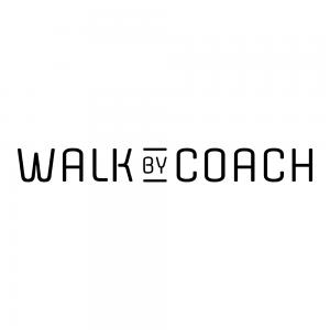 Logo til 'Walk by Coach'